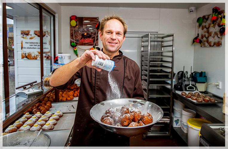 De Oliebollenbakkerij - Vers gebakken glutenvrije oliebollen en krentenbollen